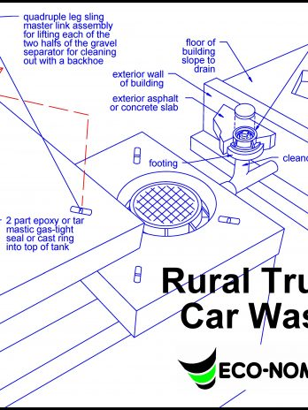 Rural Truck & Car Wash Septic System